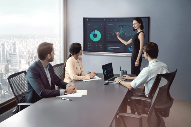 Smart Board, Smart Display, Interactive Display, Interactive TV, Video Conference, Audio Conference, System Integrator, Aliansi Sakti, Audio Call, Cloud Meeting, Cloud Conference, Online Meeting